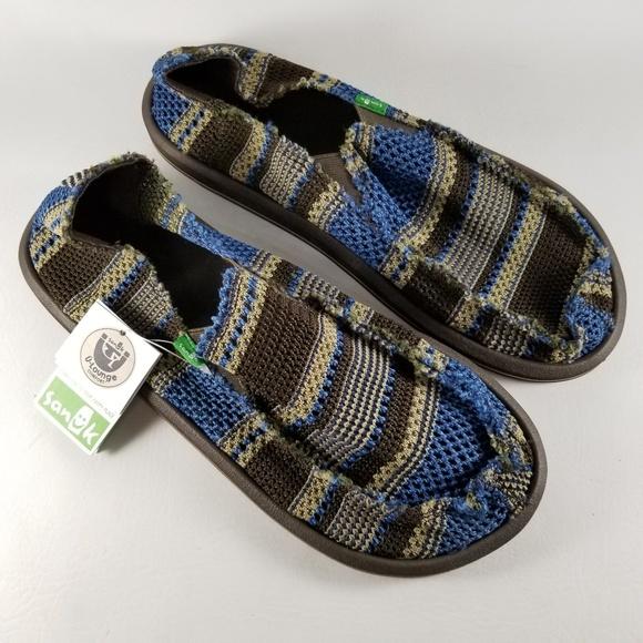 Sanuk Mens YEW-Knit Loafer